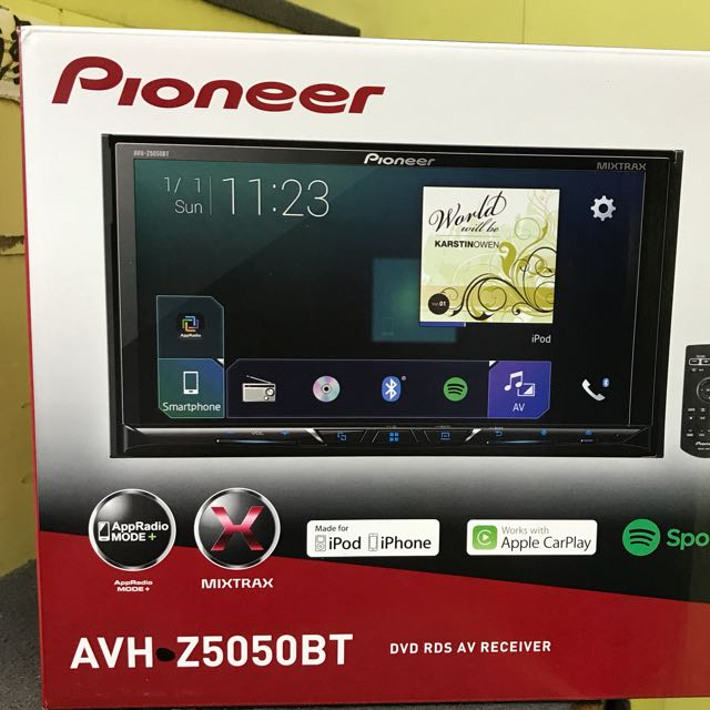 Special Price Pioneer Car Audio Avh Z5050bt Car Accessories On
