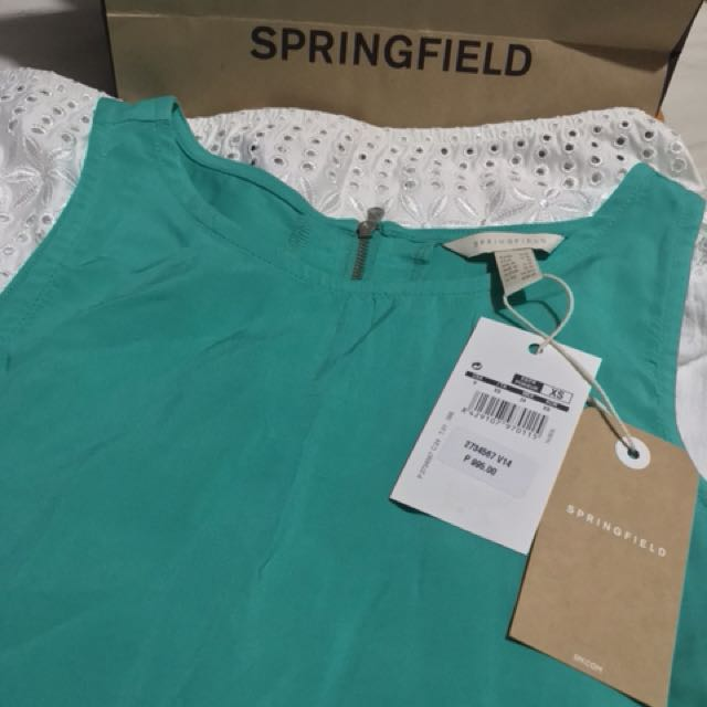 Springfield Top, Sleeveless For Sale (Free Shipping)