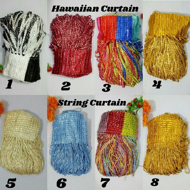 String/Hawaiin Blind Curtain