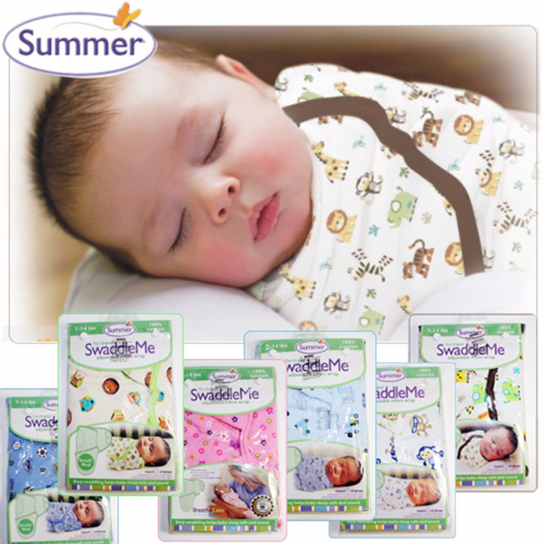 Summer Swaddleme Infant Wrap Newborn Baby Blanket Bayi Kanak