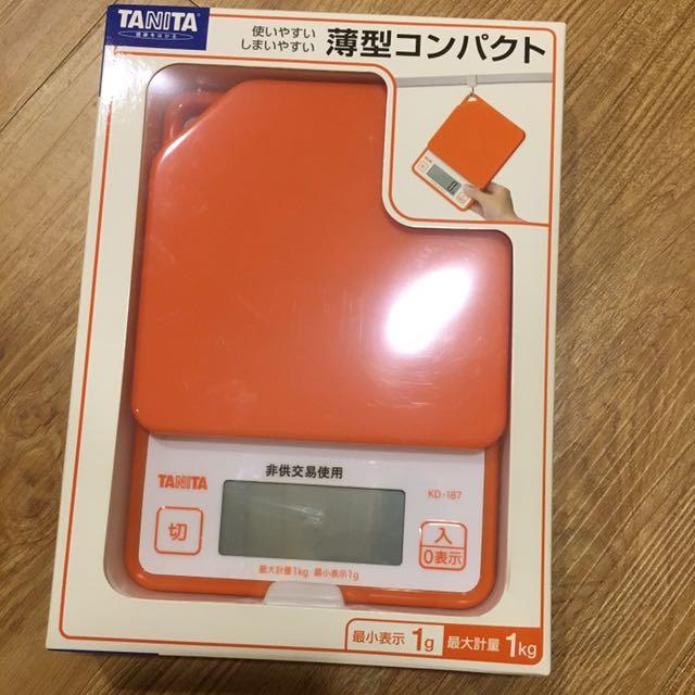 Tanita薄型電子料理秤