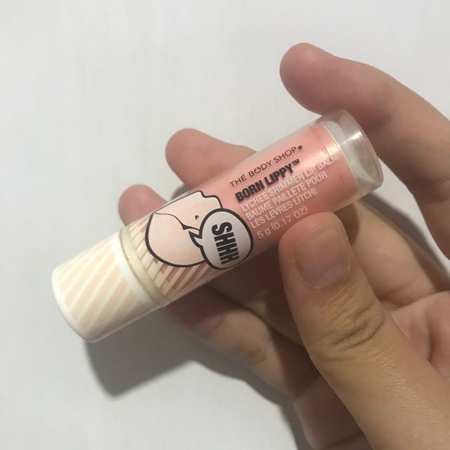 The body shop born lippy lipbalm
