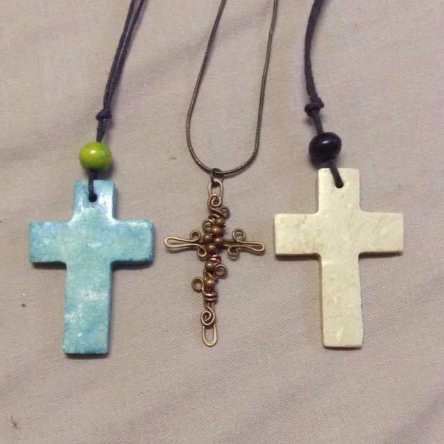 Three Biblical Crosses