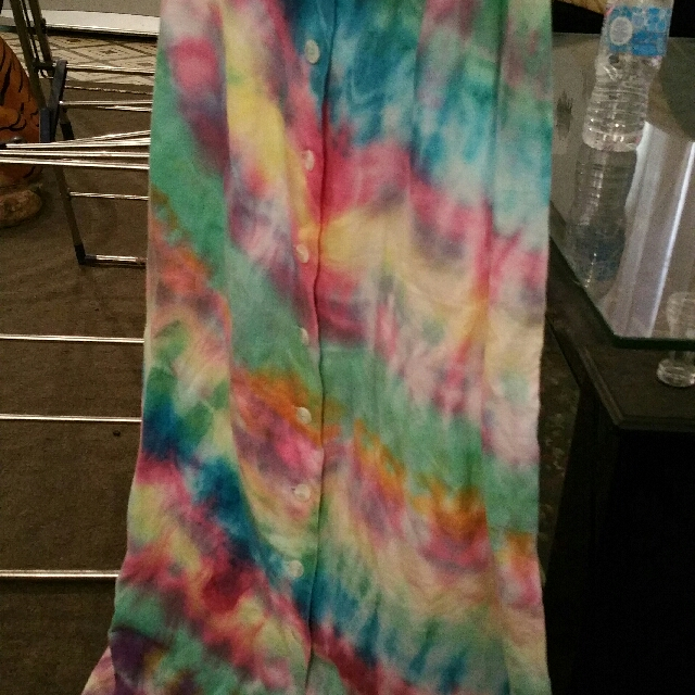 tie dyed ladies skirt
