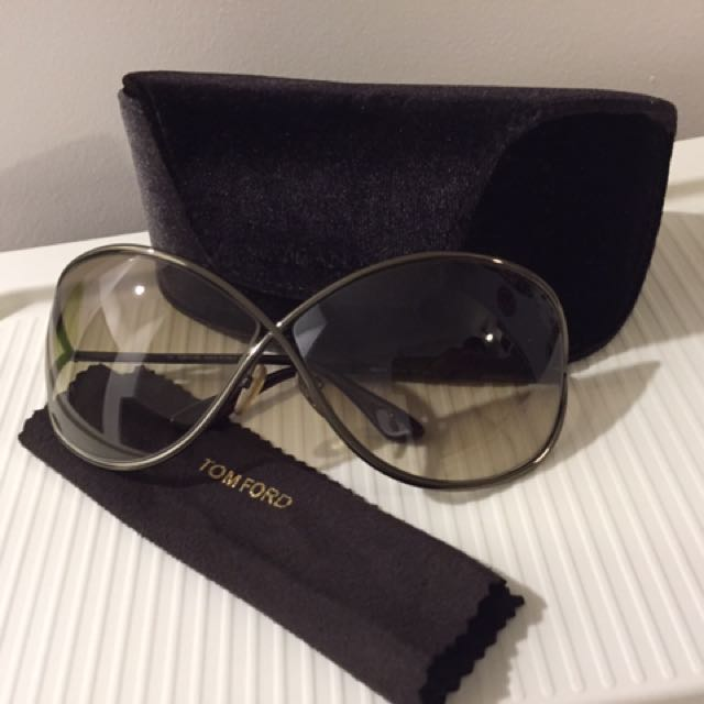 b627533894c Tom Ford Miranda TF130 36F 68 Bronze Sunglasses
