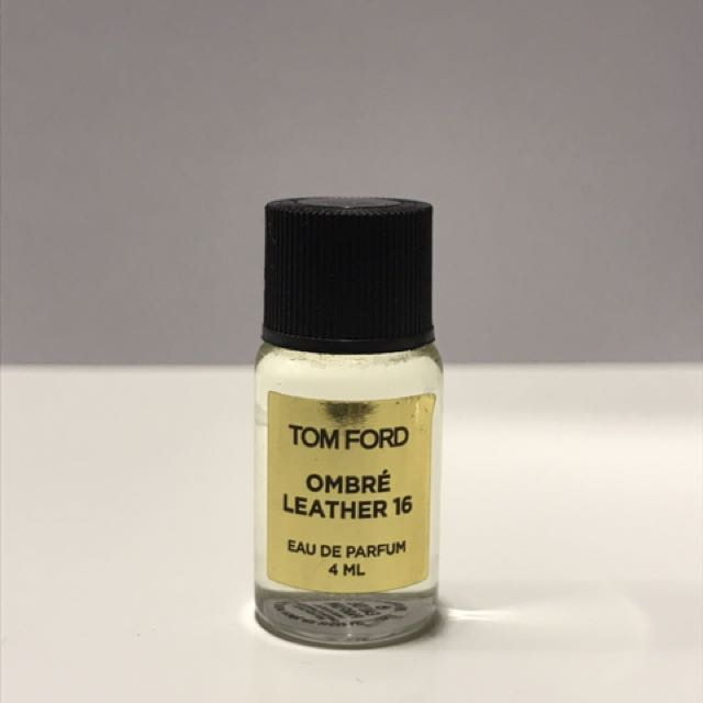 Tom Ford Ombre Leather 16 4ml Perfume Sample Health Beauty