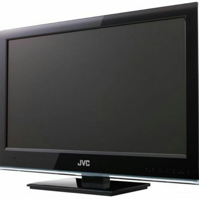 "Used 32"" LCD TV for sale with mounting bracket"