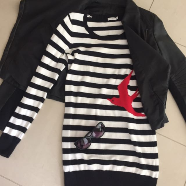 Valleygirl Jacket - red bird dress