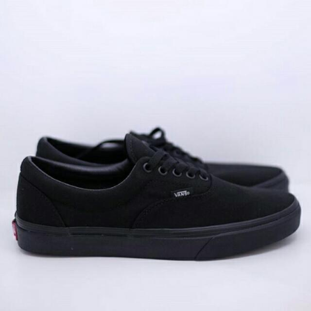 5b5171cd7acf VANS ERA FULL BLACK