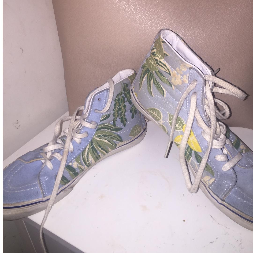 bed20ee3c4 Vans SK8 Hi Van Doren Blue Hawaiian