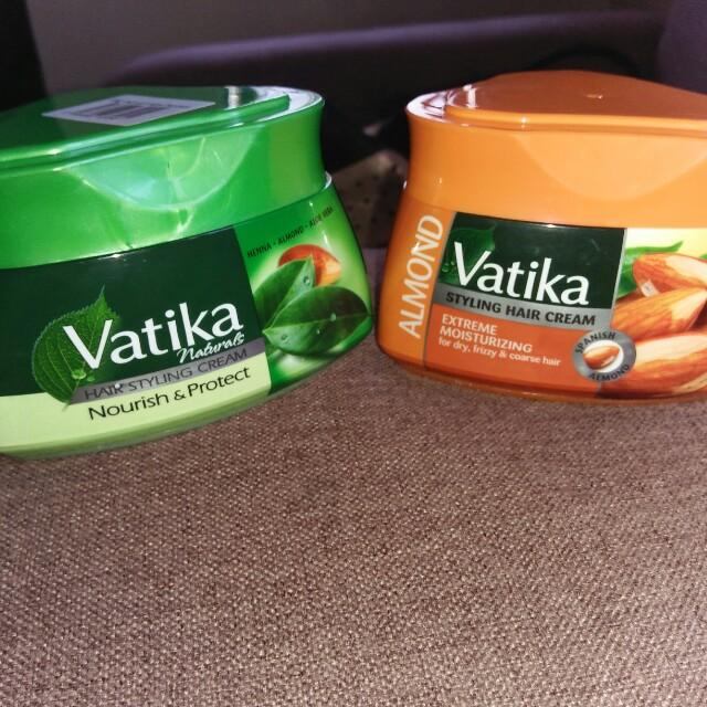 Vatika hair styling cream