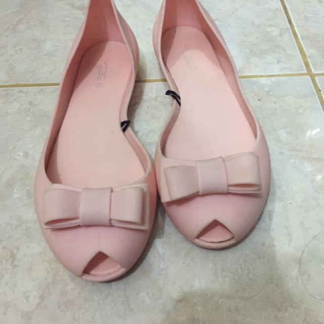 Vnc jelly shoes pink