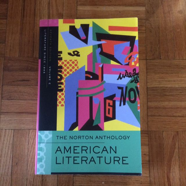 Volume E American Literature since 1945