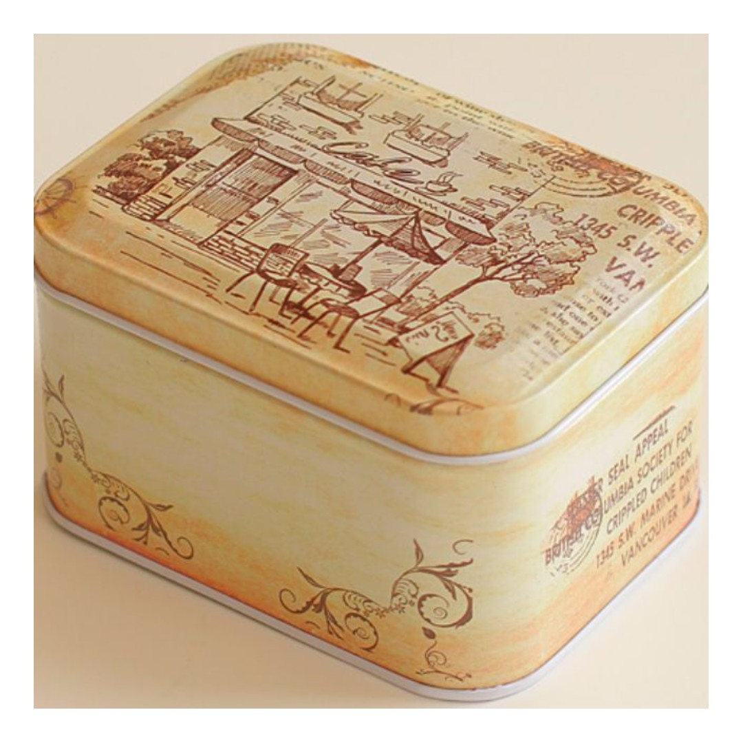 Whimsical Vintage Container