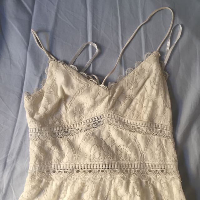 white Abercrombie sundress