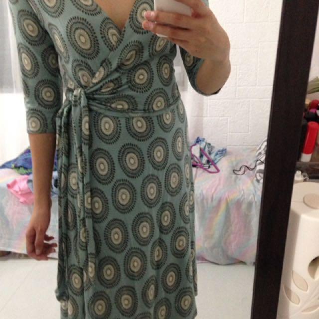 Wrap up dress