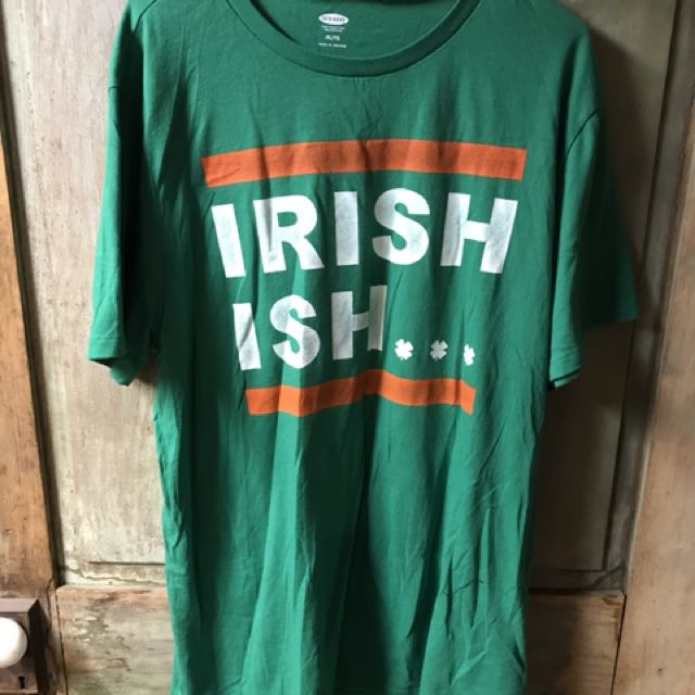 Xl green Irish t-shirt