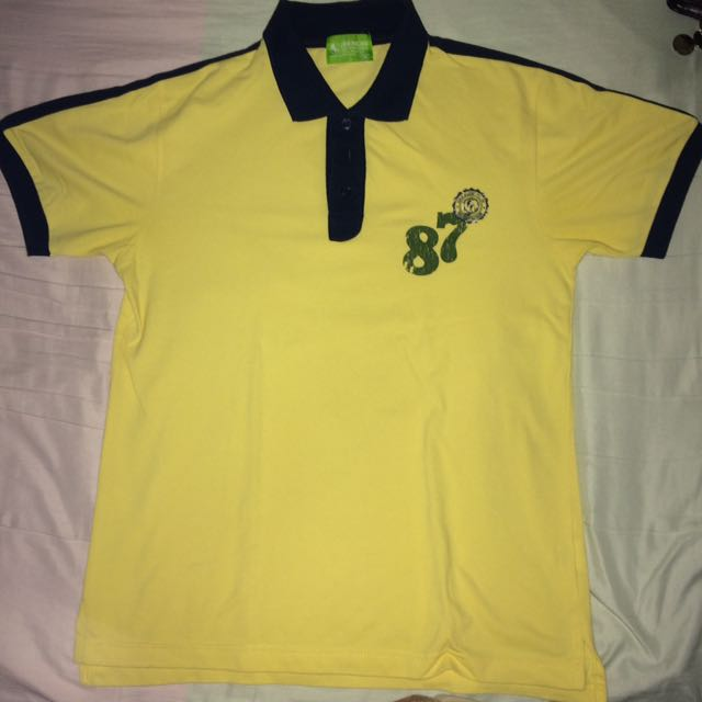 Yellow Bench Polo Shirt