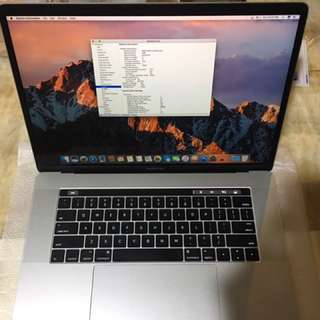 Macbook Pro Early2017 BTO 15in Core i7 2.9Ghz 16G 1Tb 4G Video