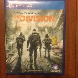 Ps4 湯姆克蘭西  全境封鎖(中文版)tom Clancy the division