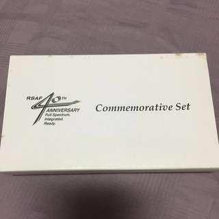RSAF 40th Anniversary Commemorative Set