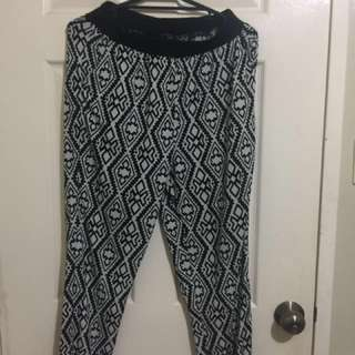 LZD Ladies Jogger Printed Pants