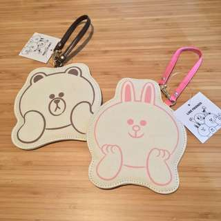 Line Friends Brown Cony 日本版咭套匙扣
