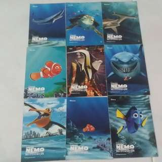 Finding Nemo Collectable Cards