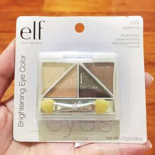 ELF Brightening Eye Color Eyeshadow Quad in Butternut