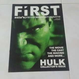 The Hulk collectable