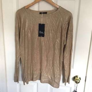 Zara Gold Knit