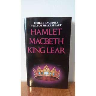 Three Tragedies William Shakespeare