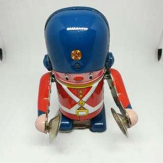 vintage tin toy british secutity