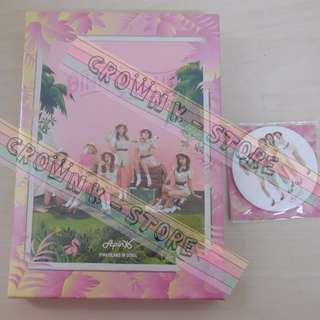 [LAST PC][CRAZY DEAL 80% OFF FROM ORIGINAL PRICE][READY STOCK]APINK KOREA SECOND CONCERT DVD (NO POSTER) SEALED ! NEW!OFFICIAL ORIGINAL FROM KOREA (PRICE NOT INCLUDE POSTAGE)PLEASE READ DETAILS FOR MORE INFO