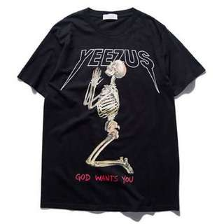 Authentic Yeezus Tour 2013 Merch Tee