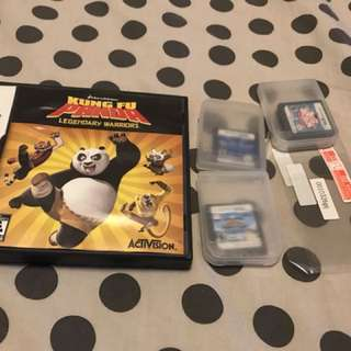 Nintendo DS games + screen protector