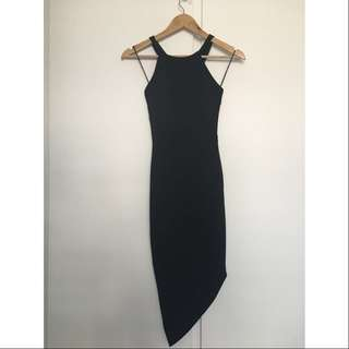 Fresh Soul Black Dress - Sz 6