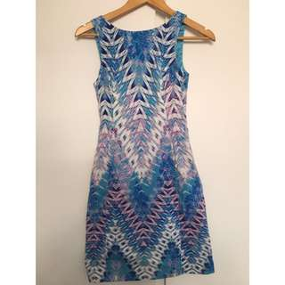 Forever New Blue Dress - Sz6 6