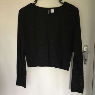 H&M Divided Lacey Top