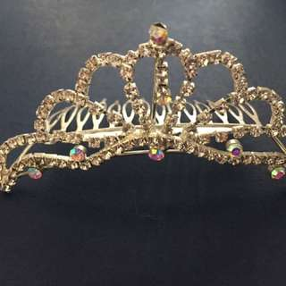 Wedding diamond tiara