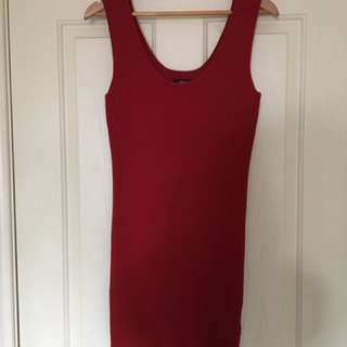 Red dress size 12