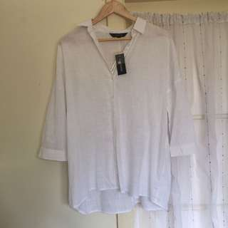 Glassons linen look shirt