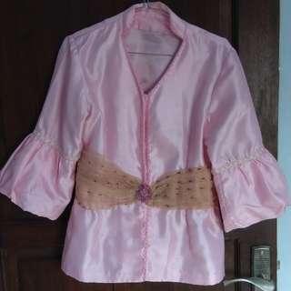 Blouse Wanita Cewe Pink
