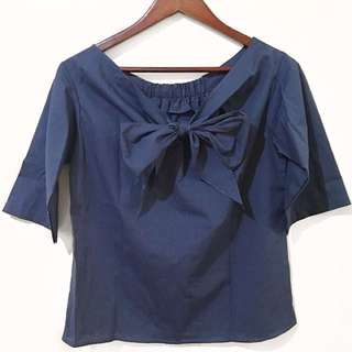🌟NEW ARRIVAL🌟 BOW TIE TOP (2 COLORS)
