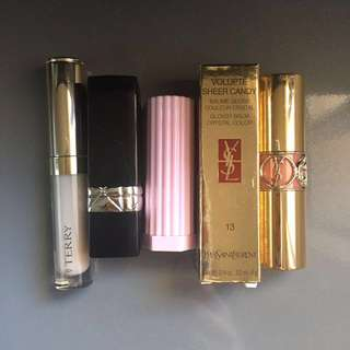 By Terry / Dior / 3CE / YSL Lip