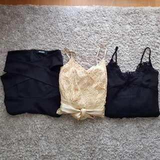 ASSORTED Playsuits