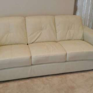 Beige/cream colour couch
