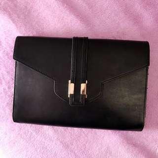 ASOS Clutch Bag. Black