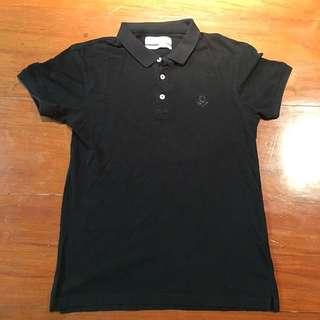 Zara Black Perfect Polo Shirt