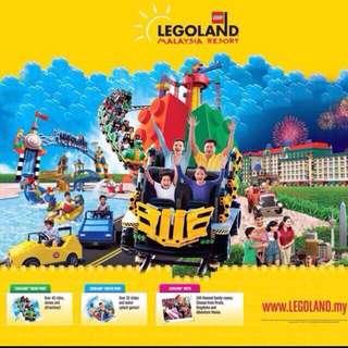 Open dated legoland malaysia themepark combo